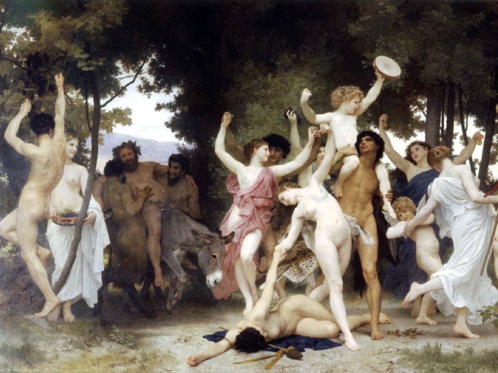 Обнаженные девицы Древней греции